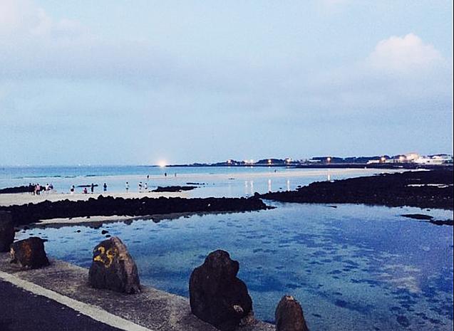 チェジュ島のセファビーチ3です