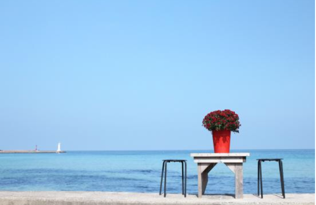 チェジュ島のセファビーチです