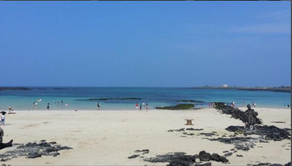 チェジュ島の牛島にある下古水洞(ハゴスドン)ビーチ5