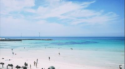 チェジュ島の青い海の写真